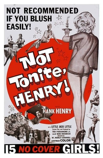 Poster of Not Tonite, Henry!