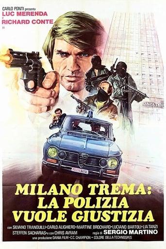 Poster of Milano trema: la polizia vuole giustizia