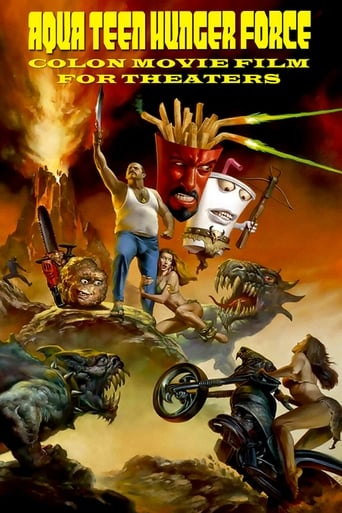 Poster of Aqua Teen Hunger Force Colon Movie Film for Theaters
