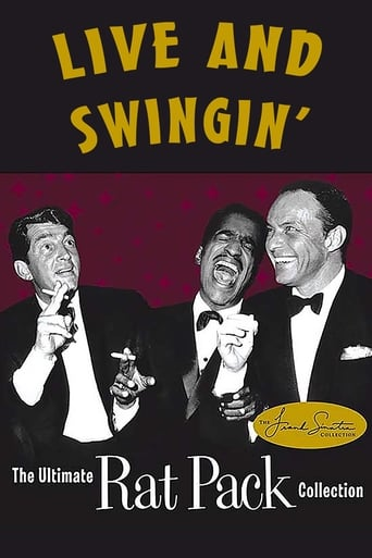 Poster of Live and Swingin': The Ultimate Rat Pack Collection