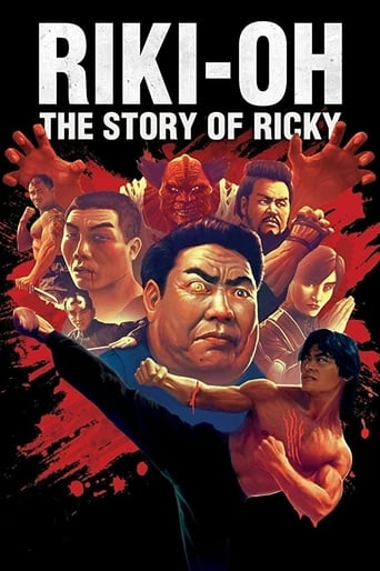 Poster of Riki-Oh: The Story of Ricky