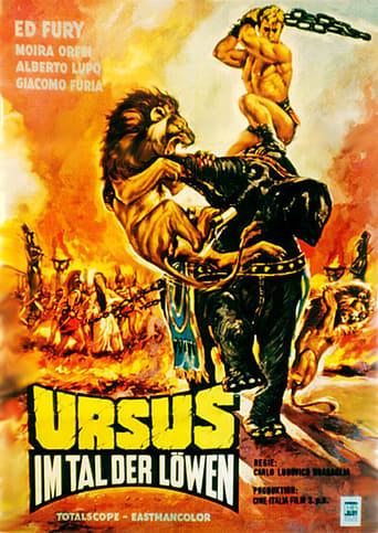 Poster of Ursus nella valle dei leoni