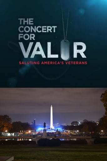Poster of The Concert for Valor