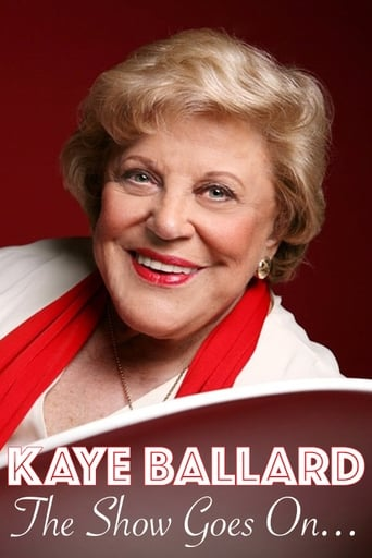 Poster of Kaye Ballard - The Show Goes On!