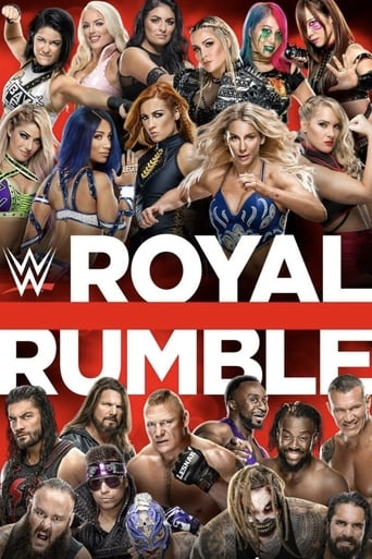 Poster of WWE Royal Rumble 2020