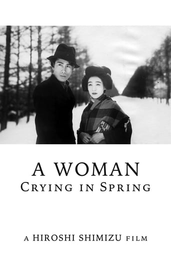 Poster of A Woman Crying in Spring