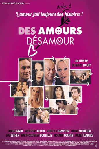 Poster of Des amours, désamour