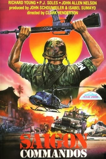 Poster of Saigon Commandos