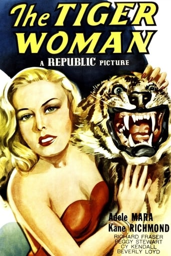 Poster of The Tiger Woman