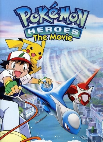 Poster of Pokémon Heroes: Latios and Latias