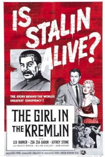 Poster of The Girl In The Kremlin