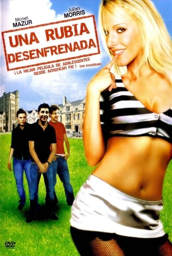 Poster of Una rubia desenfrenada