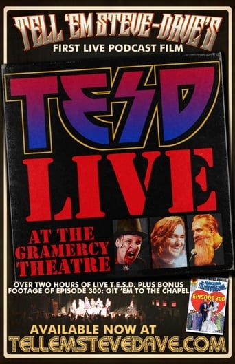 Poster of Tell 'Em Steve-Dave: Live at the Gramercy Theatre