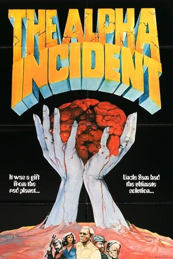 Poster of The Alpha Incident