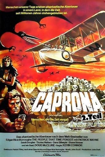 Filmplakat von Caprona 2 - Die Rückkehr der Dinosaurier