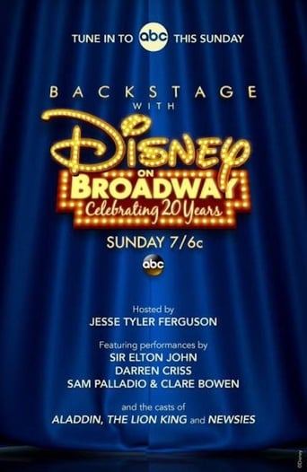 Poster of Backstage With Disney on Broadway: Celebrating 20 Years