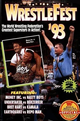 Poster of WWF: WrestleFest '93