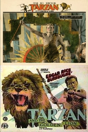 Poster of Tarzan and the Golden Lion