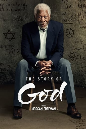 Filmplakat von The Story of God with Morgan Freeman