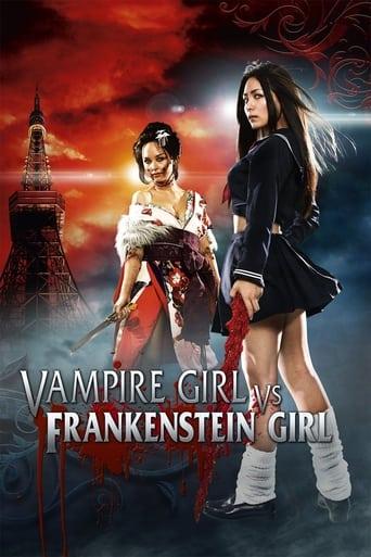 Poster of Vampire Girl vs. Frankenstein Girl