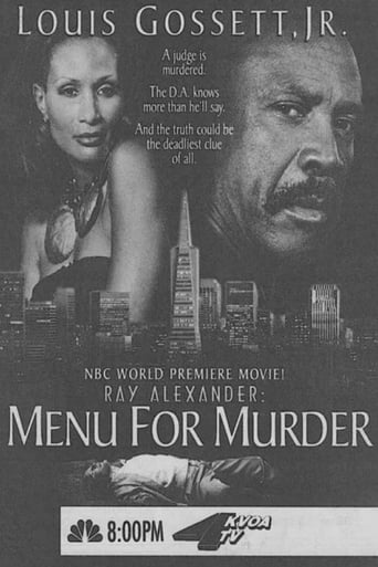 Poster of Ray Alexander: A Menu for Murder
