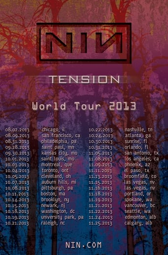 Poster of Nine Inch Nails: Tension 2013