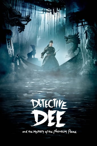 Poster of Detective Dee and the Mystery of the Phantom Flame