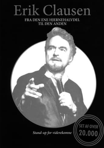 Poster of Erik Clausen - Fra den ene hjernehalvdel til den anden