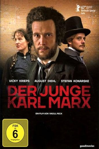 Filmplakat von Der junge Karl Marx