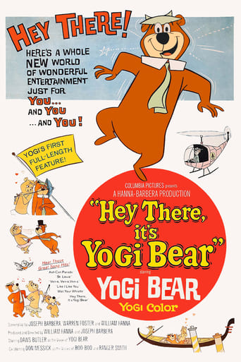 Poster of Hey There, It's Yogi Bear