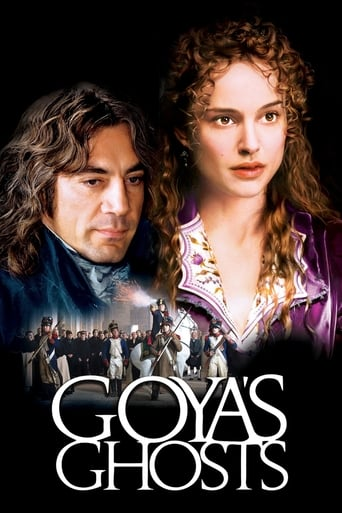 Poster of Goya's Ghosts