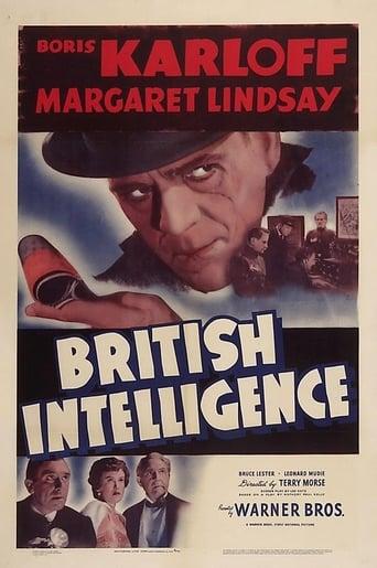 Poster of British Intelligence
