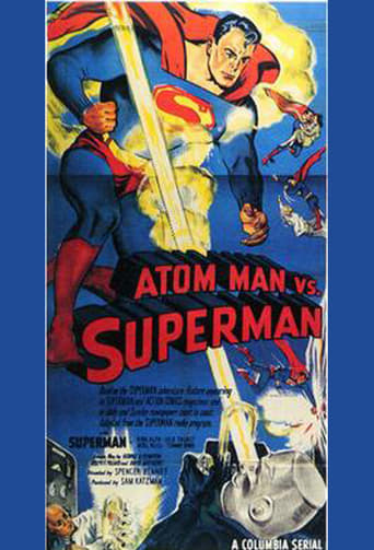 Poster of Atom Man vs. Superman