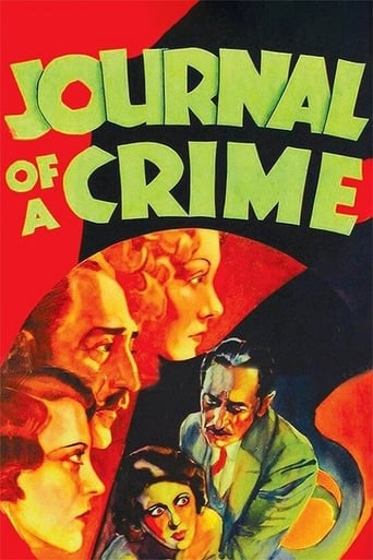 Poster of Journal of a Crime