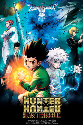 Poster of Hunter x Hunter: The Last Mission