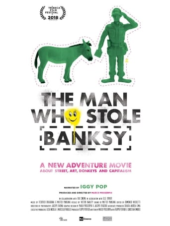 Poster of The Man Who Stole Banksy