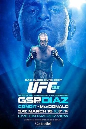 Poster of UFC 158: St-Pierre vs. Diaz