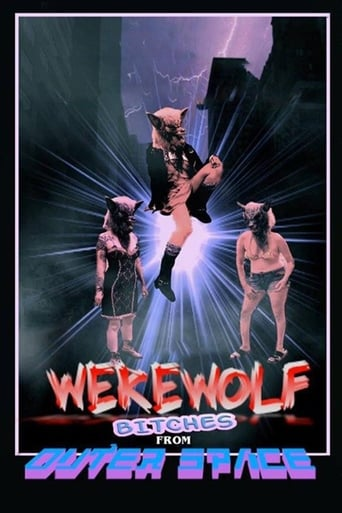 Poster of Werewolf Bitches from Outer Space