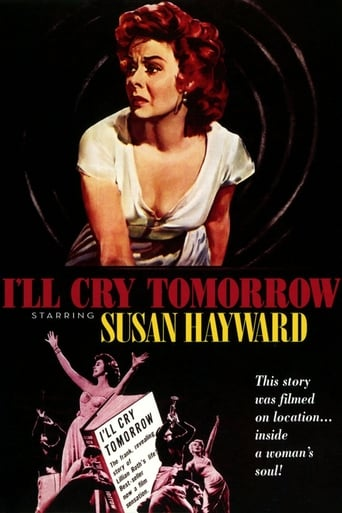 Poster of I'll Cry Tomorrow