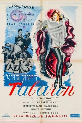 Poster of One Night at the Tabarin