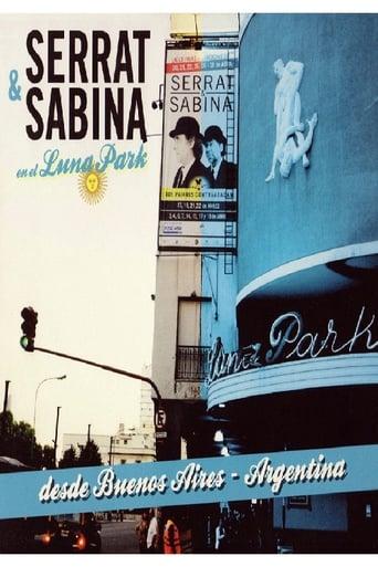 Poster of Serrat & Sabina en el Luna Park