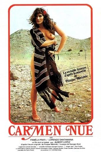 Poster of Carmen nue
