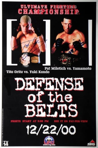 Poster of UFC 29: Defense of the Belts
