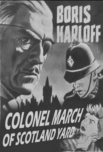 Poster of Colonel March of Scotland Yard