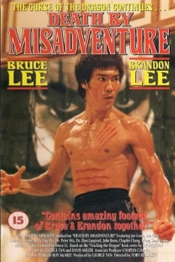 Poster of Death by Misadventure: The Mysterious Life of Bruce Lee