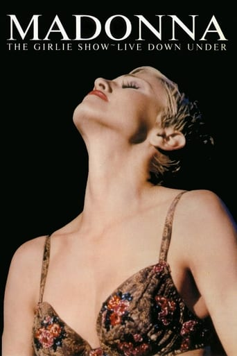 Poster of Madonna: The Girlie Show - Live Down Under