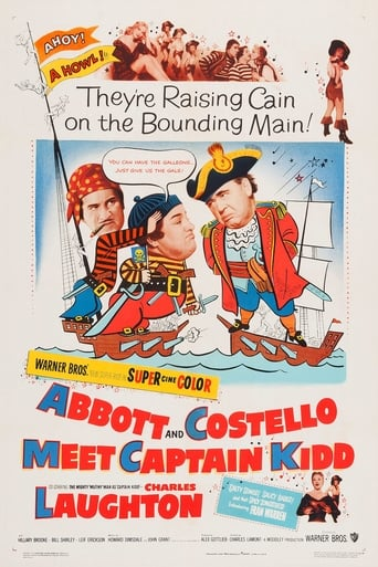 Poster of Abbott and Costello Meet Captain Kidd