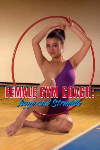 Poster of Female Gym Coach: Jump and Straddle