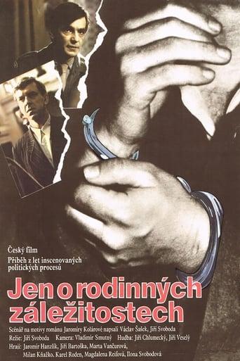 Poster of Jen o rodinných záležitostech