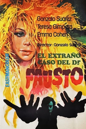 Poster of The Strange Case of Doctor Faust
